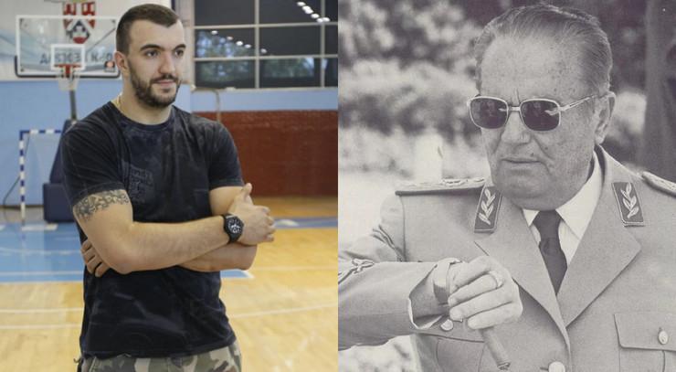 Nikola Peković i Josip Broz Tito