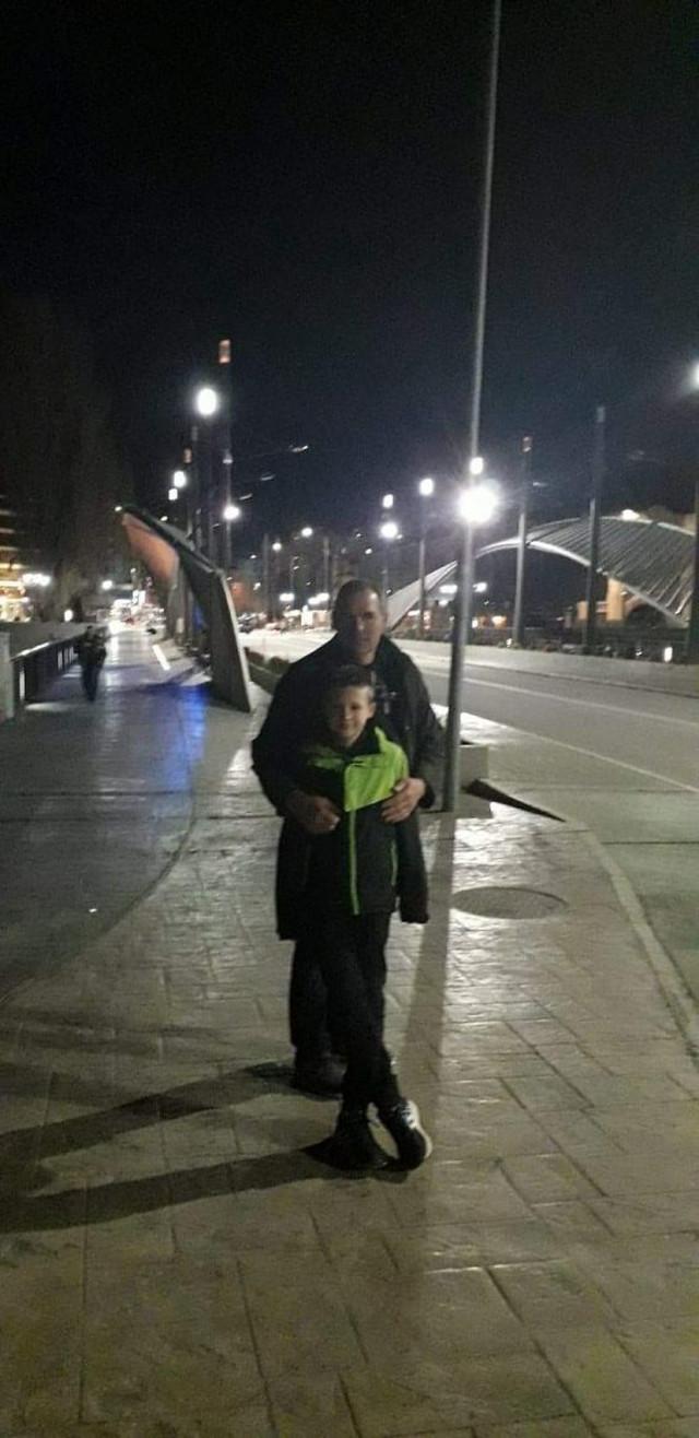 Sa sinom u Kosovskoj Mitrovici