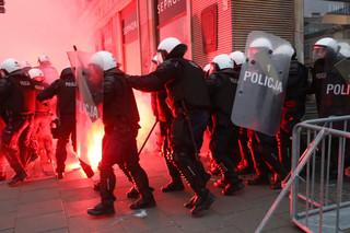 Marczak: 35 policjantów rannych podczas Marszu Niepodległości