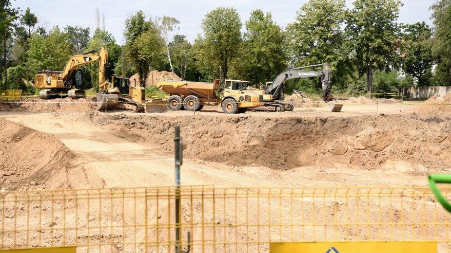 Rozpoczęcie budowy CZSK, fot. UMP