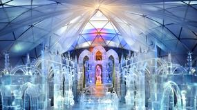 Tatrzańska Świątynia Lodowa - niezwykły kościół, który zniknie na wiosnę