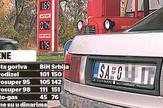 grafikas bosna cene goriva poredjenje srbija bosna foto RAS