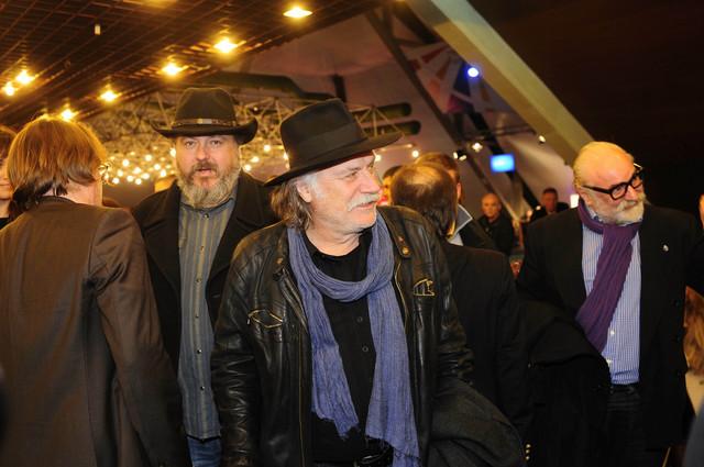 Rade Šerbedžija i Danilo Šerbedžija (levo)