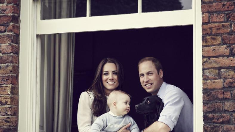 Nowe zdjęcie księcia Jerzego. Kate i William chwalą się potomkiem