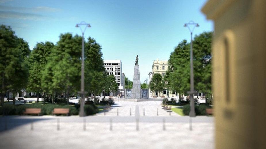 Zielony Plac Wolności. Inwestycja w Łodzi