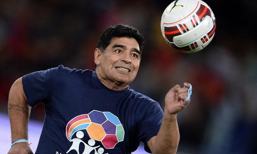 Pijany Diego Maradona wywołał burdę w chorwackim kurorcie!