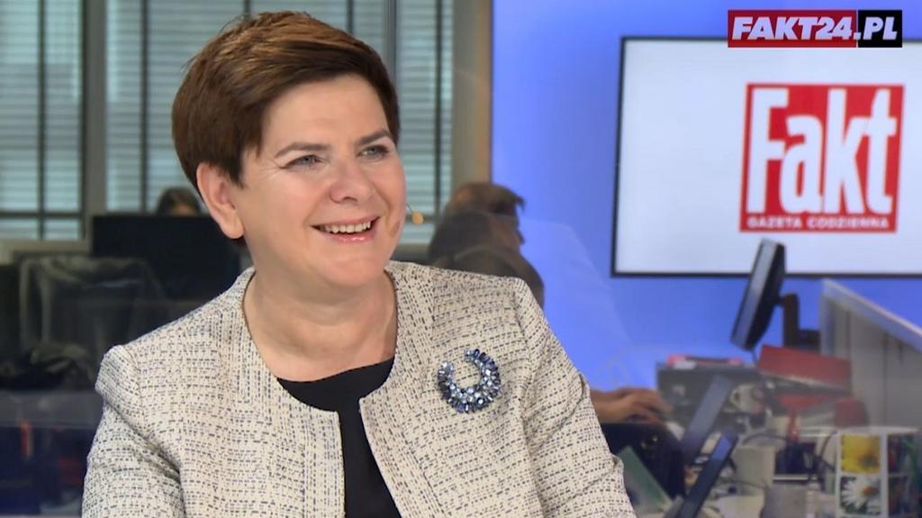 Wywiad z premier Beatą Szydło