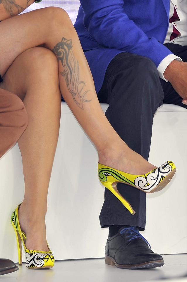Znane Polki Z Tatuażem Na Nodze Facet