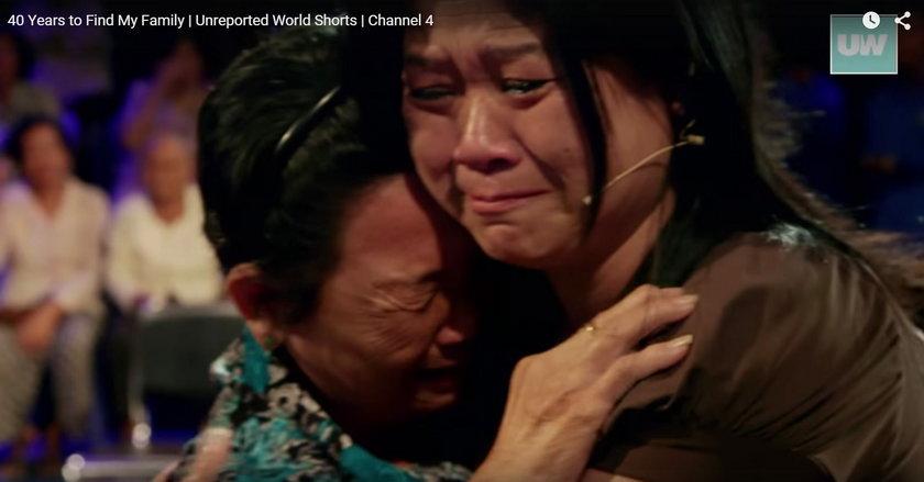 Rodzina zjednoczona po 40 latach rozłąki