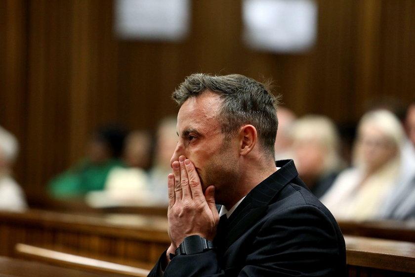 Oscar Pistorius trafi na 6 lat do więzienia! Nowy wyrok za zabójstwo