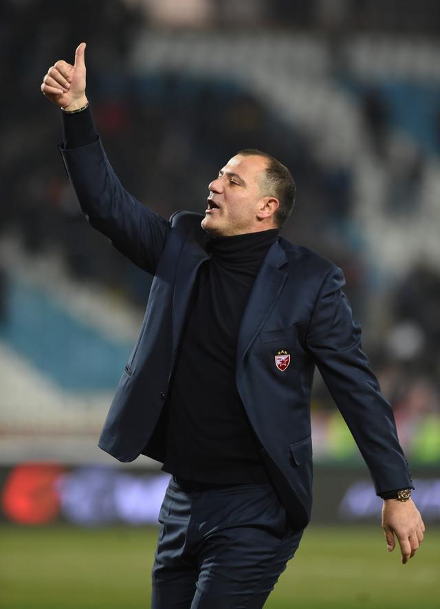 Dejan Stnaković na meču FK Crvena zvezda - Vojvodina