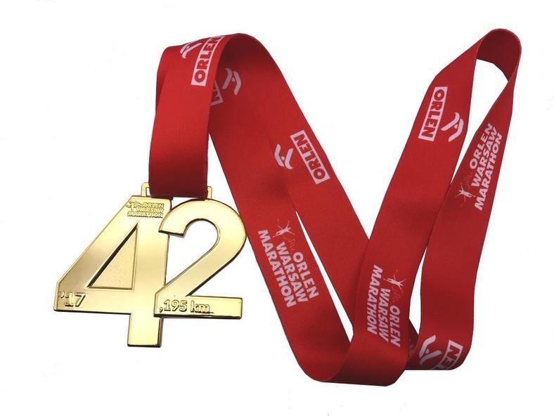 Orlen Warsaw Marathon - medal