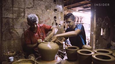 This family-owned pottery shop has survived six decades of war and conflict in Gaza