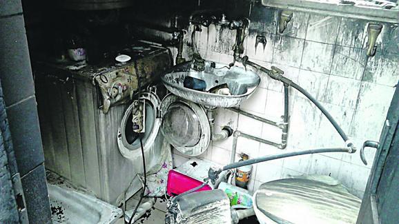 zgarište: U nekoliko minuta požar je progutao celu kuću