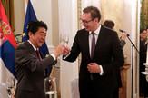 Svecana vecera za japanskog premijera2, foto Tanjug, MOD