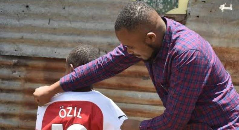 Kenyan boy awarded by Ozil lands ambassadorial job