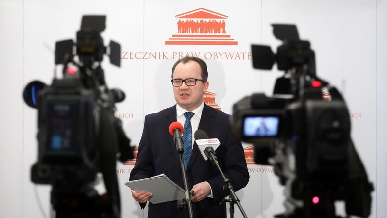 Adam Bodnar udzielił wywiadu na temat przejęcia sądów przez PiS