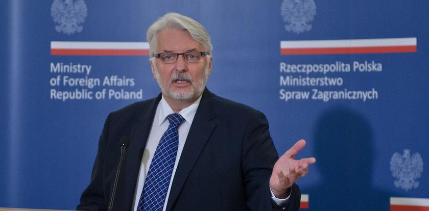 """Nowe motto MSZ. W starym """"tworzono Europę"""", teraz jest więcej o ojczyźnie"""