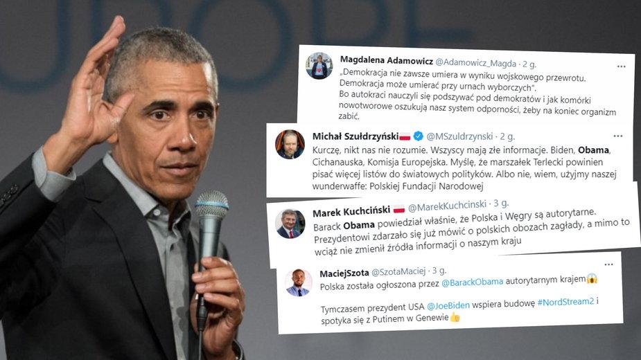 Barack Obama: Polska stała się autorytarna