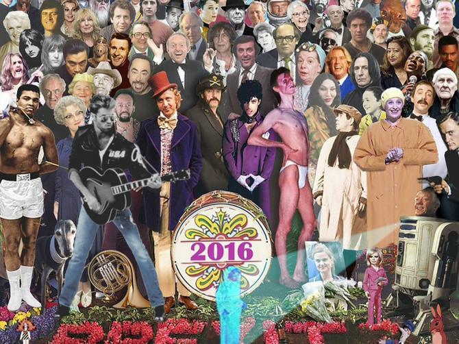 Okupio je sve velikane koji su nas napustili u 2016. na jednoj fotografiji: I postao HIT na internetu!