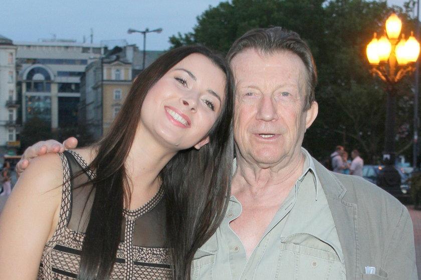 Edward Linde-Lubaszenko z córką