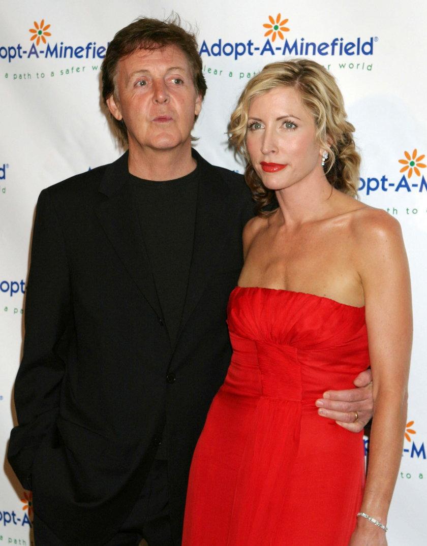 Paul McCartney i Heather Mills
