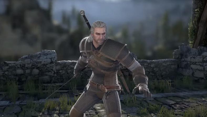 Geralt w SoulCalibur VI