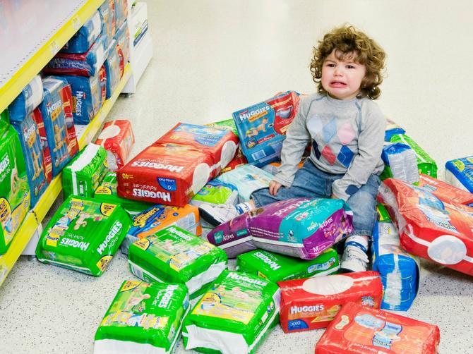 Morate da obavite kupovinu, a vaše dete nikako da se smiri: Jedan deka ima REŠENJE za tu situaciju!