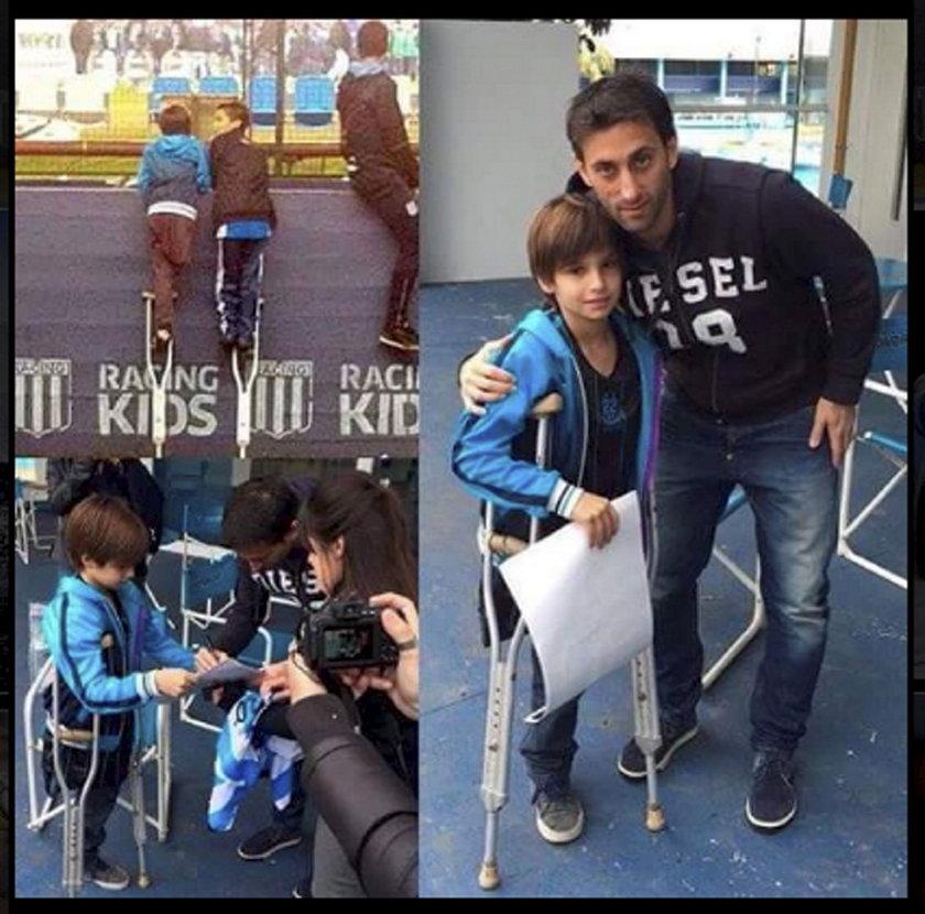 Diego Milito pożegnał się z futbolem, a świat obiegło to zdjęcie!