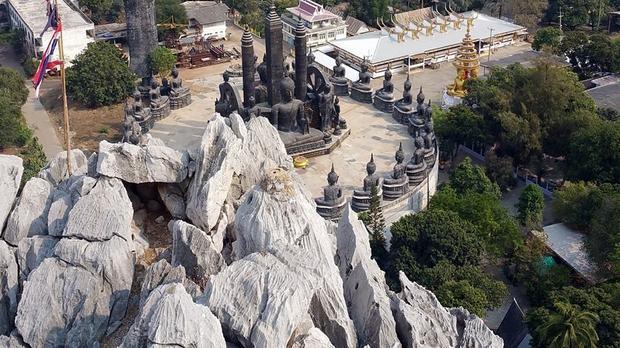 Widok z góry Thamkrabok
