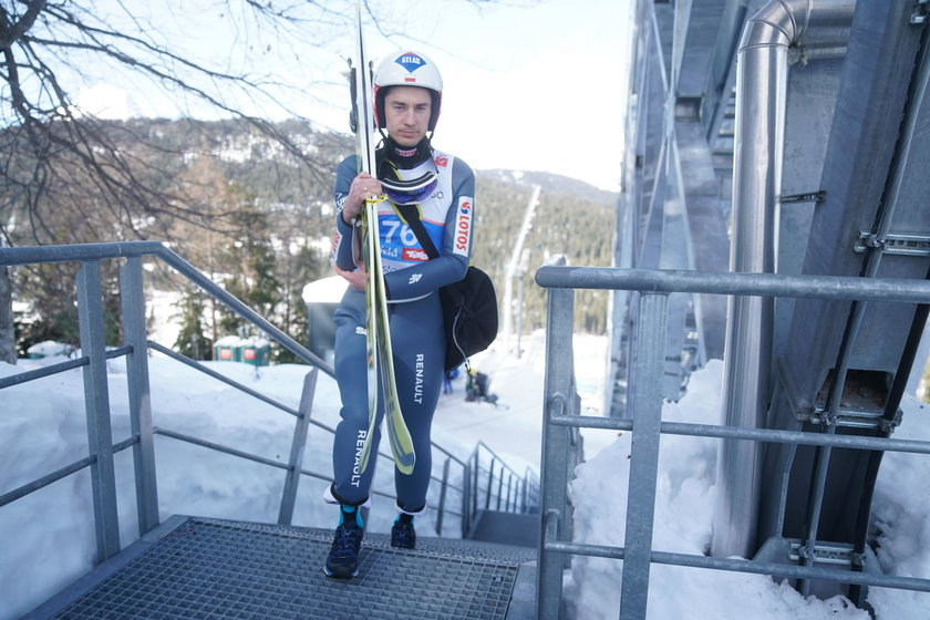Skoki narciarskie, mistrzostwa świata, trening