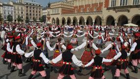 Kraków - rekord Guinnessa w tańczeniu krakowiaka