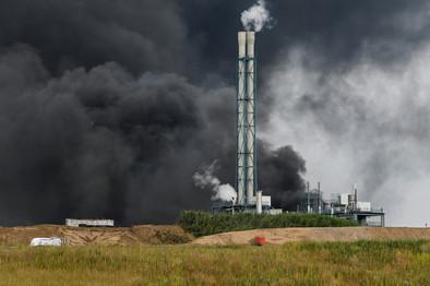 IMGW ostrzega przed nadciągająca chmurą dymu po wybuchu w fabryce chemicznej w Leverkusen - Forsal.pl