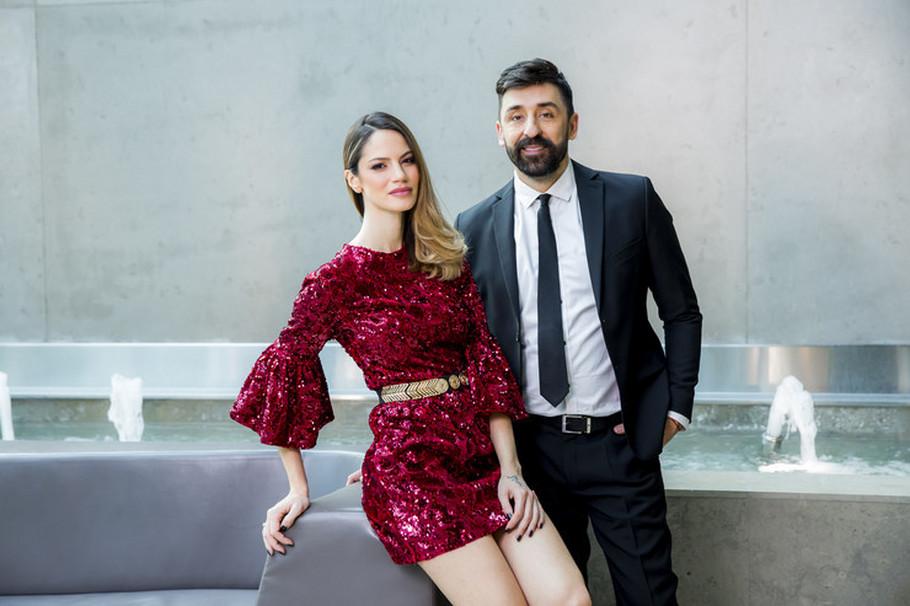 Ognjen Amidžić i Danijela Dimitrovska