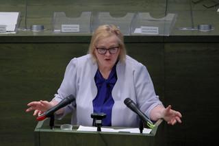 Manowska rozmawia w Strasburgu na temat sytuacji w polskim sądownictwie
