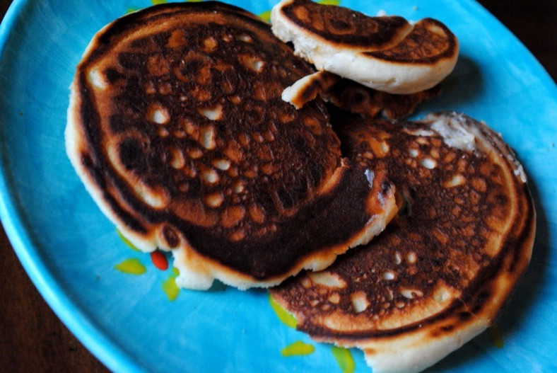 Burnt pancakes(Peanut Butter Fingers)