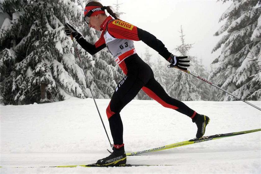 Justyna Kowalczyk w końcówce sezonu może okazać się mocniejsza od Marit Bjoergen