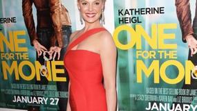 Katherine Heigl w gorącej czerwieni