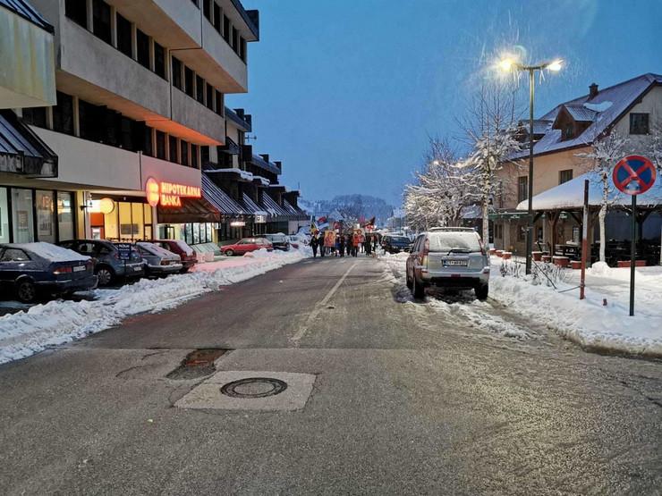 Žabljak litija Crna Gora