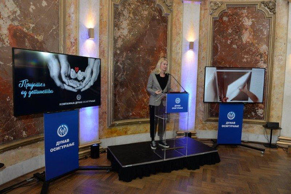 Tamara Grujić na predstavljanju projekta Dunava - Prijatelj od detinstva