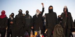 Anarchiści pod Spodkiem