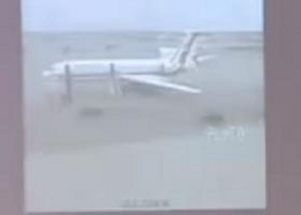 Kadr z prezentcji komisji badającej przyczyny katastrofy smoleńskiej fot. youtube.com