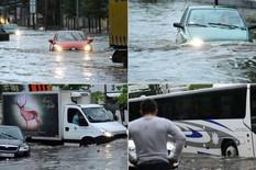 POTOP NA ULICAMA BEOGRADA Zbog nevremena otežan saobraćaj, tramvaji nisu vozili, neke ulice POPLAVLJENE (FOTO, VIDEO)