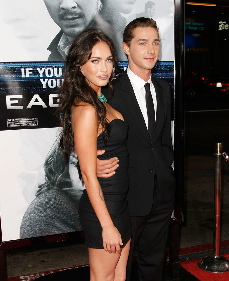 Shia LaBeouf i Megan Fox w 2009 r.