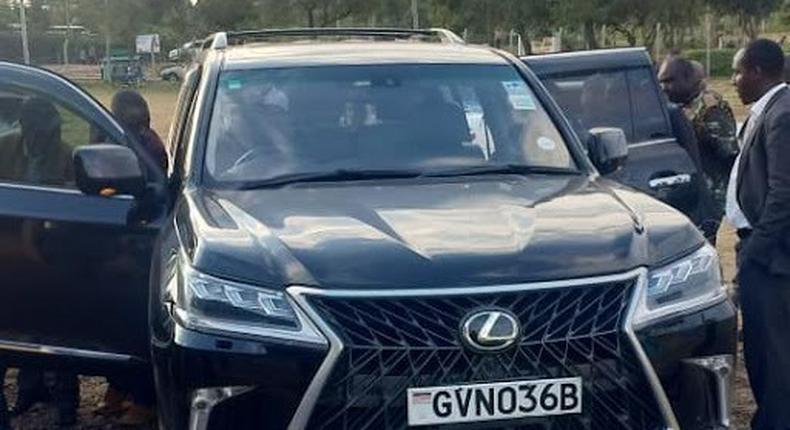 Questions raised as Bomet county hires luxurious car for new Governor Hilary Barchok's inauguration