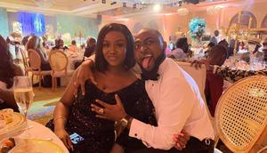 Davido and his fiancee, Chioma Avril Rowland [Instagram/TheChefChi]