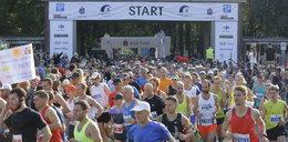Maraton ulicami Wrocławia