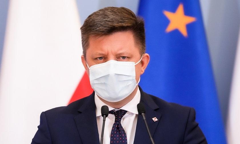 Na zdjęciu Michał Dworczuk.
