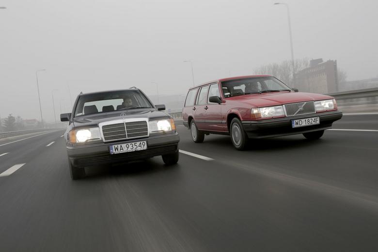 I Volvo, i Mercedesa projektowano na długie lata eksploatacji.