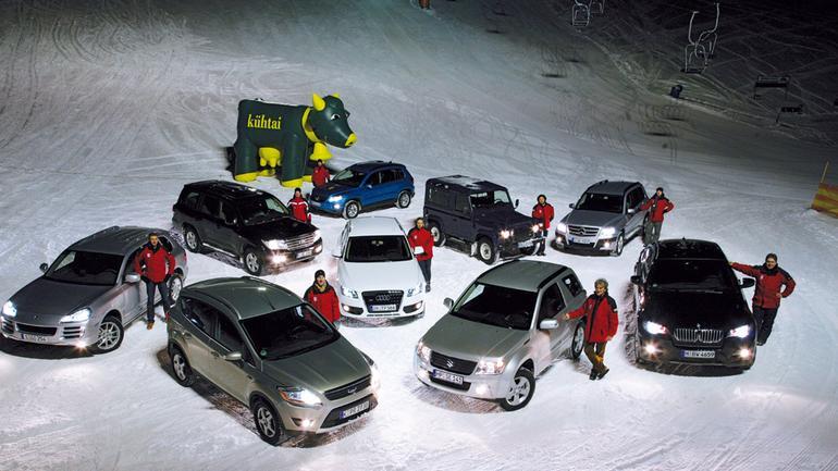 Auto najlepsze na śnieg - Zaskakująca wycieczka w góry